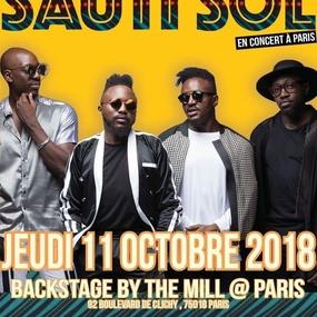 LIVE in PARIS Johanna Saint-Pierre open for Sauti Sol