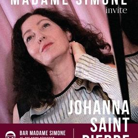 Johanna Saint-Pierre Live Voice & Piano Célian Rocques